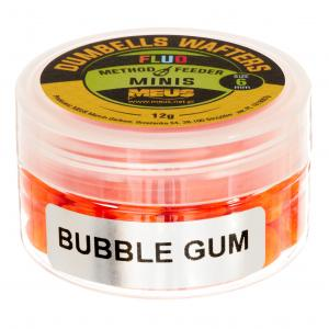 DUMBELLS MEUS FLUO WAFTERS 6MM BUBBLE GUM  MINIS