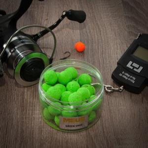 Meus Kulki Fluo Wafters Green Shot 12mm