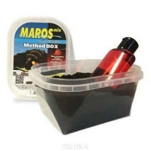 Pellet Maros-Mix Method Box (Black) + Liquid - N-B