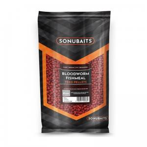 PELLET SONUBAITS FEED  4 MM - BLOODWORM